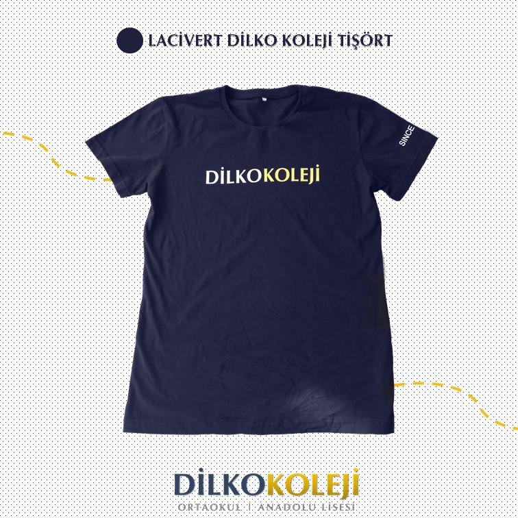 Dilko Koleji Lacivert Tişört