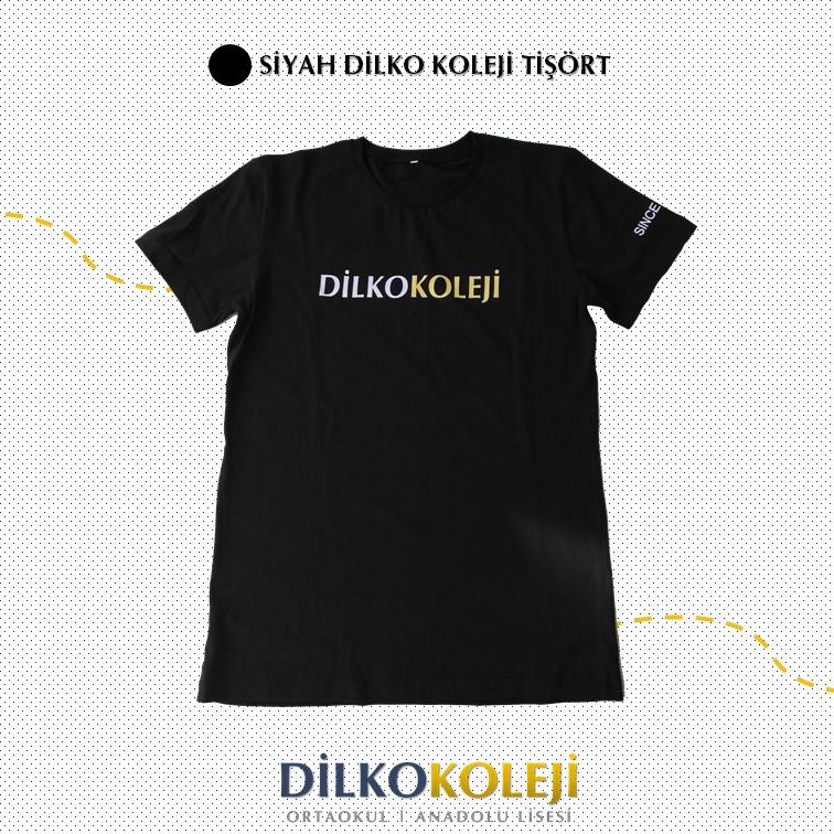 Dilko Koleji Siyah Tişört